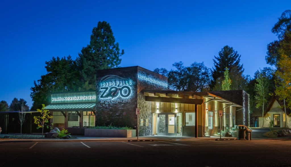 Photo of exterior of Idaho Falls Zoo